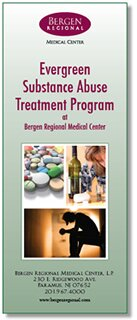 Evergreen Substance Abuse Treatment Center brochure